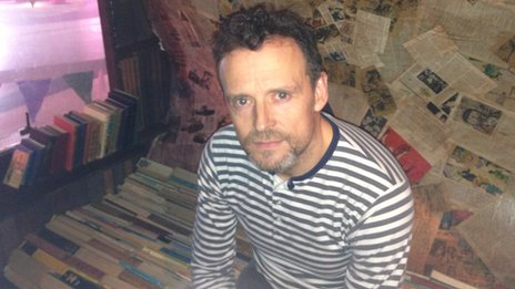 Artist Graeme Rose, 47, the Public