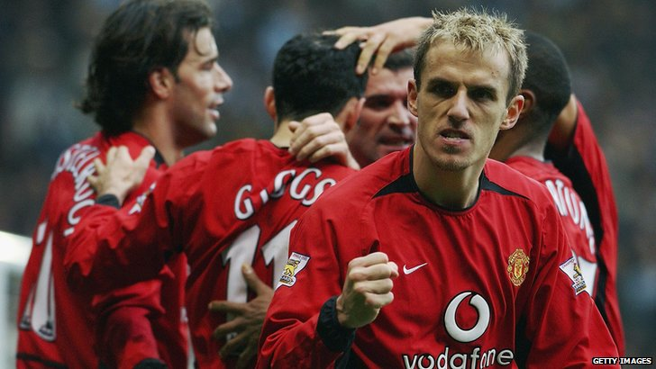 Former Manchester United player Phil Neville