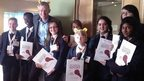 Jeremy Vine and Northwood School's School Reporters