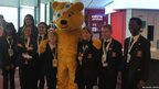 School Reporters from Northwood School spent Children in Need day at BBC Broadcasting House