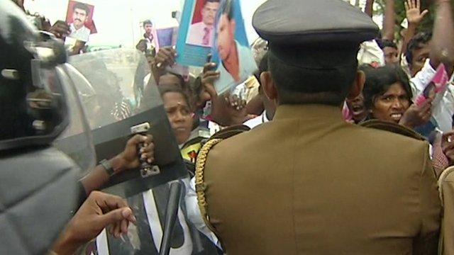 Protests in Sri Lanka