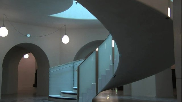 The new staircase at Tate Britain