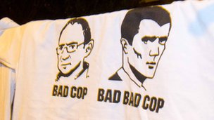 T-shirt of Roy Keane and Martin O'Neill