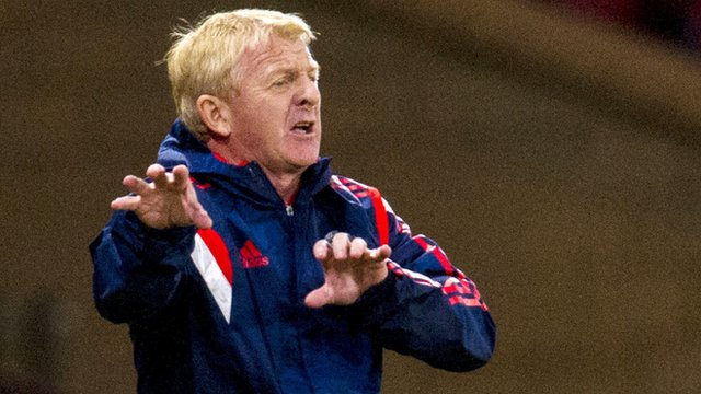 Interview - Scotland manger Gordon Strachan