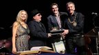 Van Morrison receives award