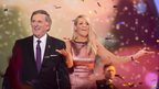 Children in Needs hosts Sir Terry Wogan and Tess Daly