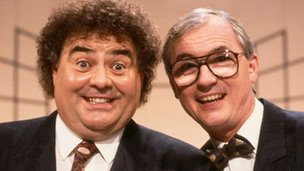 Eddie Large and Syd Little