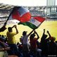 India cricket fans in Wankhede Stadium, Mumbai