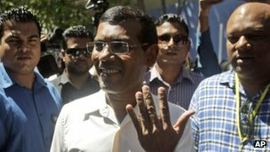 Mohamed Nasheed, Male, 16 Nov