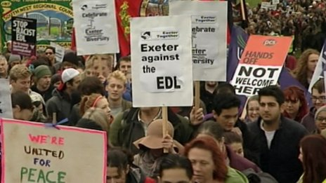 Exeter Together campaigners