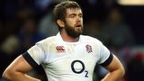 England's Geoff Parling