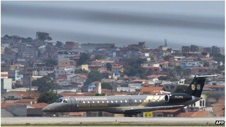 Brazil Federal Police aeroplane