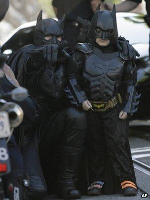 Bat kid in San Francisco