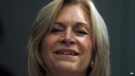 Chilean presidential candidate Evelyn Matthei, 16 November 2013