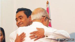 Maldives President Abdulla Yameen