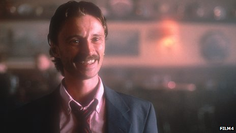 Robert Carlyle portraying Francis Begbie in Trainspotting