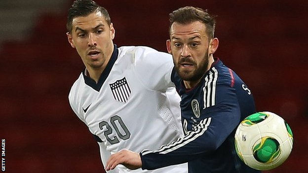 Steven Fletcher (right) has returned to Sunderland