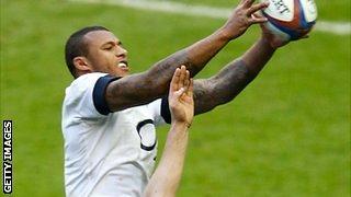 England lock Courtney Lawes