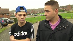 Jack Duncan (left) and Rory Mulholland