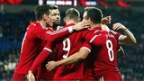 Wales celebrate against Finland