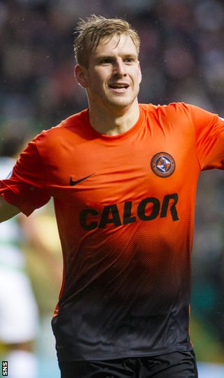Dundee United midfielder Stuart Armstrong