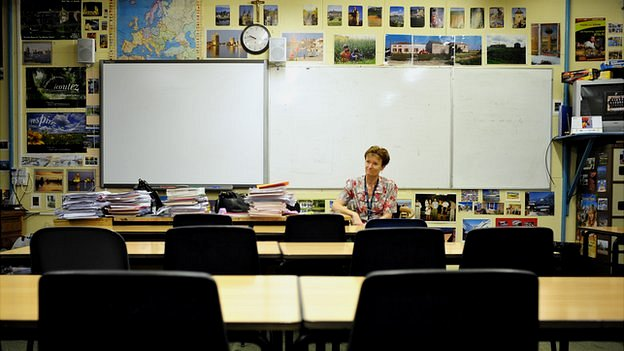 Trish Wood in the same classroom as many of those children who died learned in