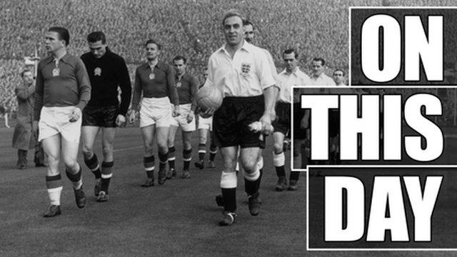 England v Hungary, 1953