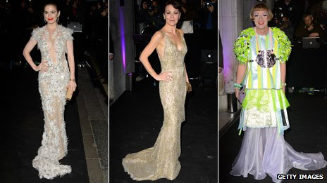 Hayley Atwell, Helen McCrory and Grayson Perry