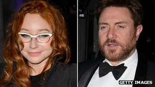 Tori Amos and Simon Le Bon