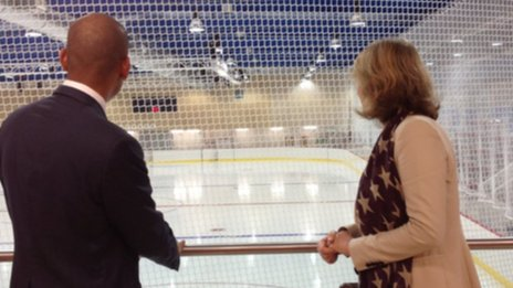 Streatham Ice Rink And Sports Centre Opens Bbc News