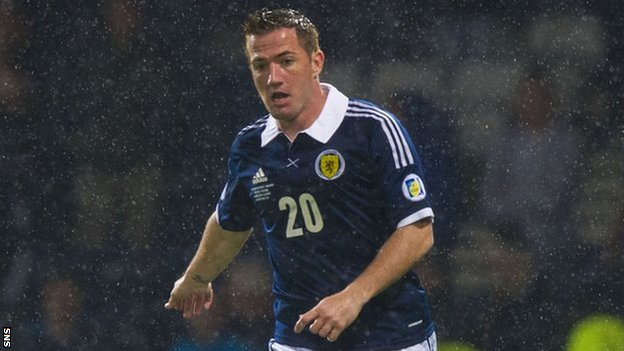 Scotland striker Ross McCormack