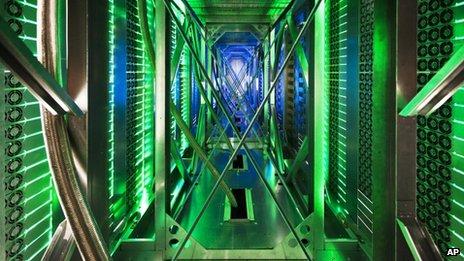 Computer server centre