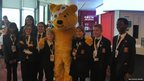Pudsey and Northwood School team.