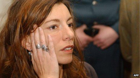 Kristina Rady, in 2004