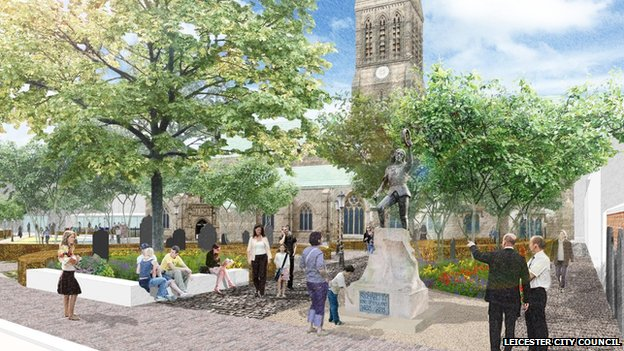 Artist's impression of Cathedral Gardens