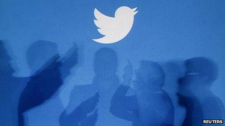 Twitter logo (file pic)
