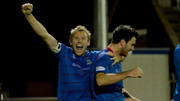 Inverness CT captain Richie Foran