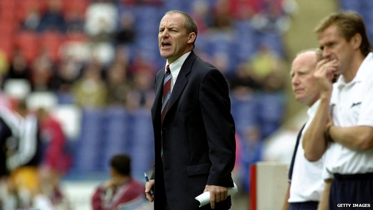 Former Crystal Palace manager Steve Coppell