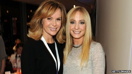 Amanda Holden and Joanne Froggatt