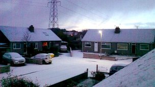 Snow in Aberdeen
