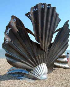 Scallop sculpture