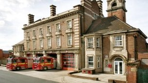 Aston fire station