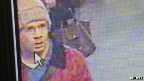 Paris police have released CCTV images of the man they want to question