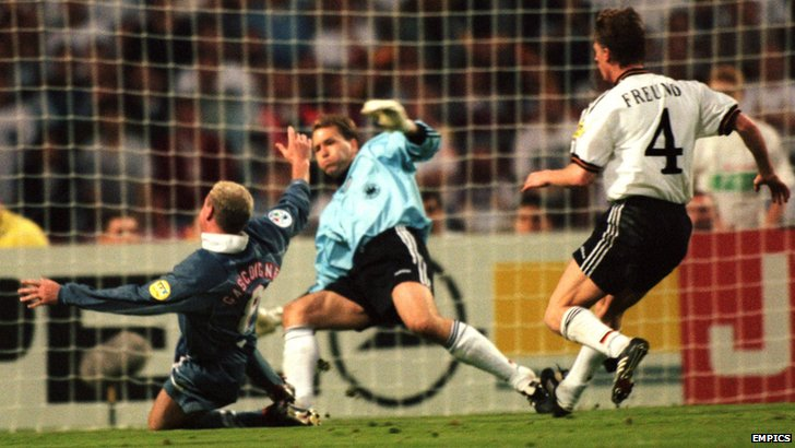 England v Germany 1996