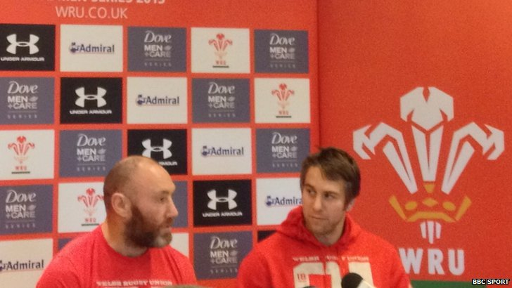 Wales media conference