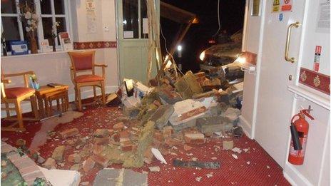 Damage at Kingsway Nursing Home