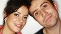 Lily Allen and Nick Grimshaw