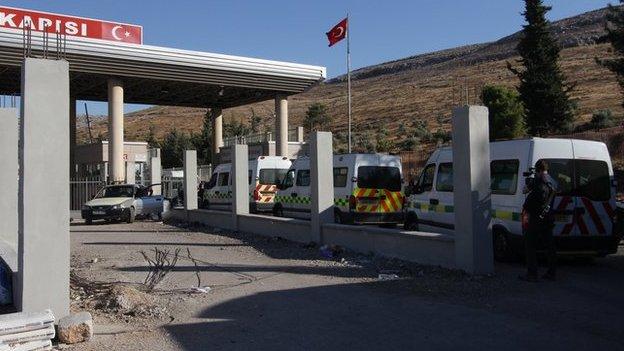 Into Syria