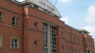 Stoke civic offices