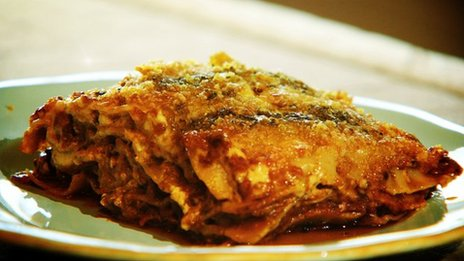 Nigel Slater's lasagne